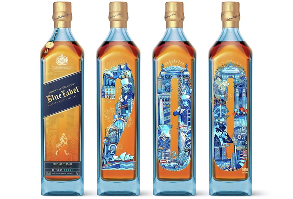 Johnnie Walker celebra sus 200 años con estas cuatro ediciones de Blue Label - johnnie-walker-200-ancc83os-1