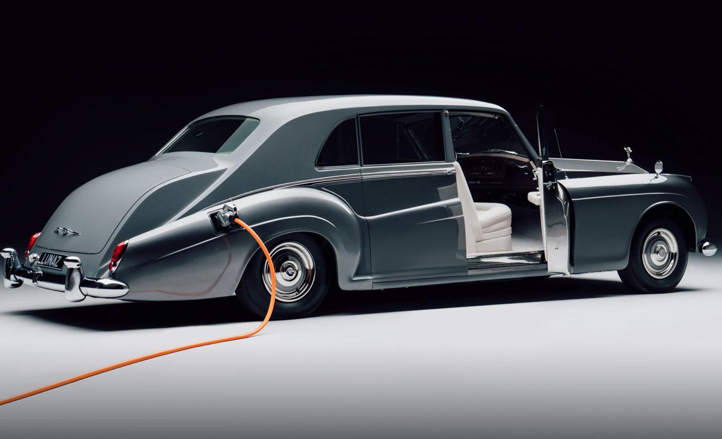 Así luce el primer Rolls-Royce eléctrico