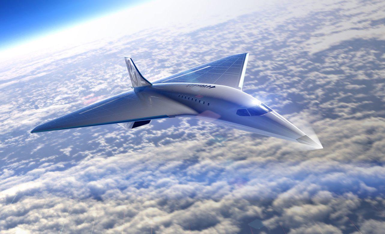 Virgin Galactic y Rolls-Royce harán un avión que te llevará de Nueva York a Londres en 90 minutos