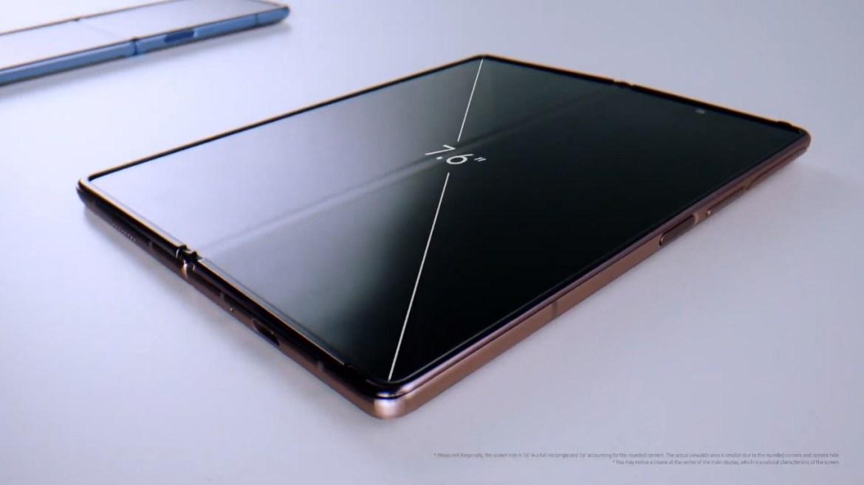 Galaxy Unpacked Event y las 5 sorpresas que amamos, inlcuido el Galaxy Note 20 - z-fold-2