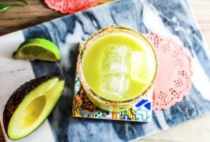 Prepara este delicioso drink con aguacate y tequila