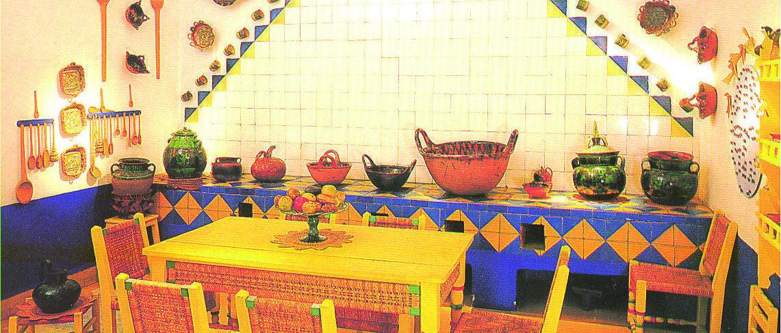 Decoración mexicana en tu cocina al estilo de Frida Kahlo