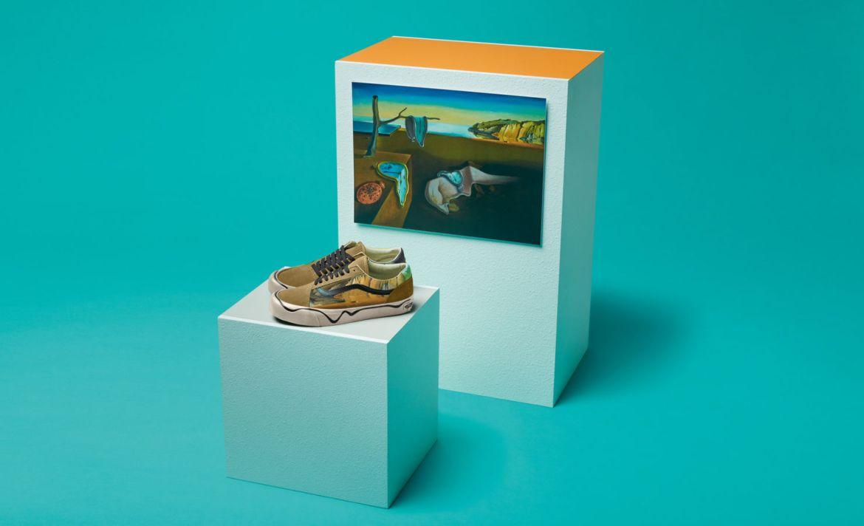 Vans y el MoMa lanzan una edición especial para los amantes del arte - salvador-dali-moma-vans