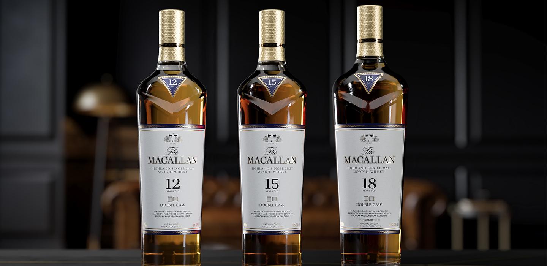 The Macallan Double Cask 15 y 18 años es lo que NECESITAS ¡ya!