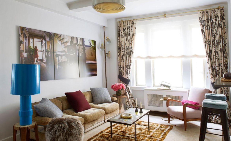 ¡Adiós frío! 4 Tips para combatir los días helados en casa - cortinas-termicas-sala