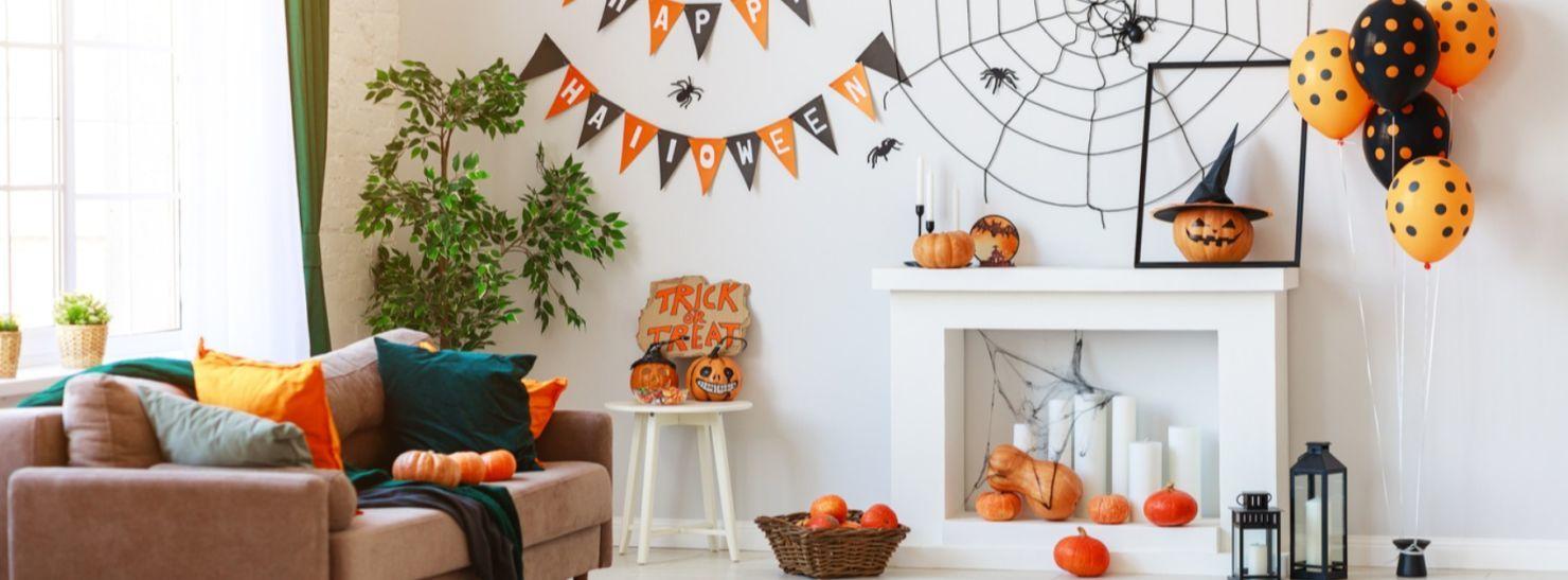 Tendencias de decoración temática de Halloween 2020