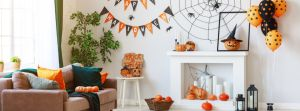Tendencias de decoración temática de Halloween 2020