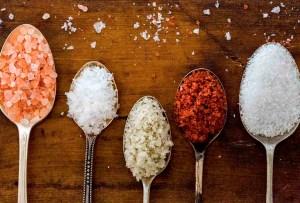 ¿Qué tipos de sal debes usar para cada ocasión?