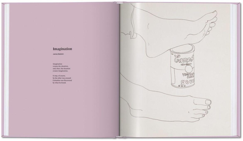 Las obras eróticas de Andy Warhol que tal vez no conocías - andy-warhol-dibujos-pies