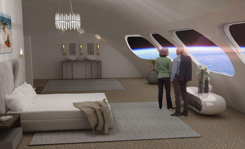 Esto es lo que podrás hacer en el primer hotel en el espacio - habitacion-espacio-hotel