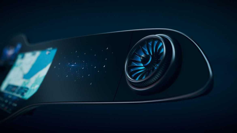 Mercedes-Benz presenta una mega pantalla inteligente en el nuevo EQS - mercedes-benz-hyperscreen