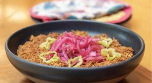 Platillo de la semana: Torta de cochinita pibil de Chapulín