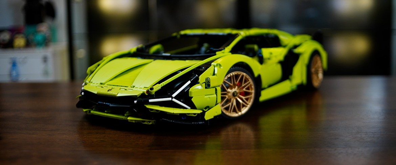 Estos son los mejore autos que puedes armar en LEGO - lamborghini-lego