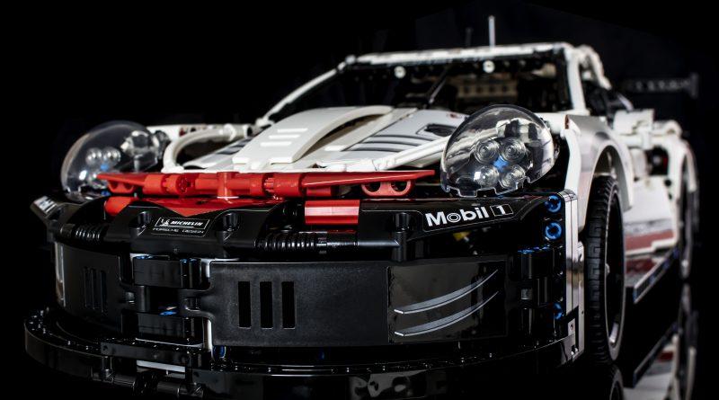 Estos son los mejore autos que puedes armar en LEGO - porsche-lego