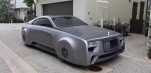 El Rolls Royce personalizado de Justin Bieber es todo un sueño futurista