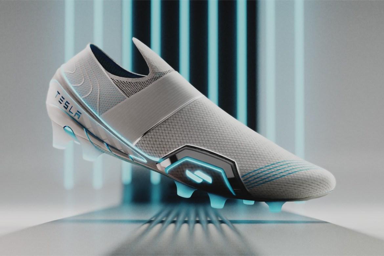 Estos son los tenis deportivos inspirados en Tesla que necesitamos - tesla-zapatos