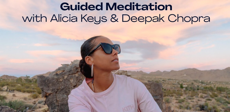 Alicia Keys y Chopra Global lanzan un programa de meditación que amarás - alicia-keys-chopra-med-2