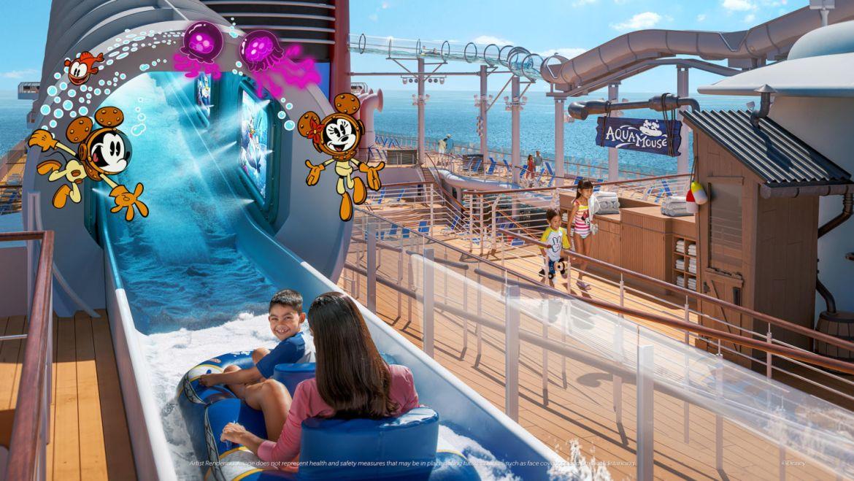 Así es Disney Wish, el nuevo y más avanzado crucero de Disney - disney-wish-aquamouse