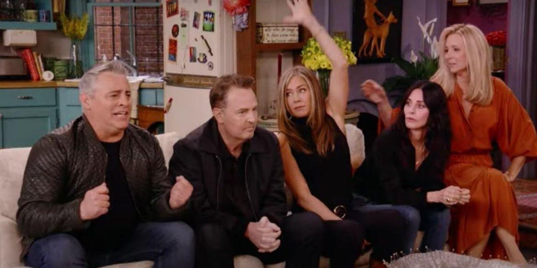 Después de 17 años Friends regresó con un especial memorable para los fans - friends-reunion