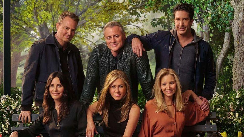 Después de 17 años Friends regresó con un especial memorable para los fans - hbo-friends