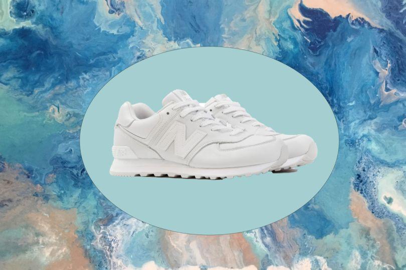 Los mejores sneakers blancos para hombre que todos deberían tener - new-balance