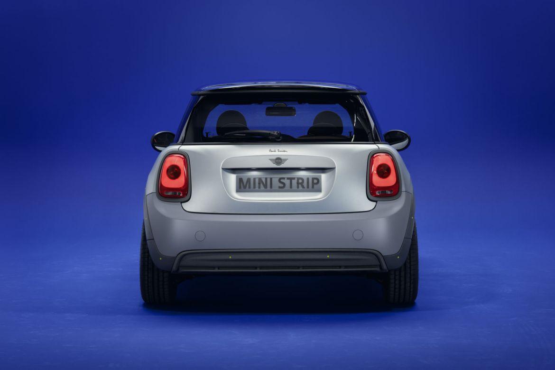 MINI Strip x Paul Smith; el MINI más sustentable del mundo - p90432221-highres-mini-strip-08-2021