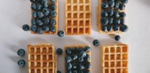 Las mejores recetas de waffles para desayunar