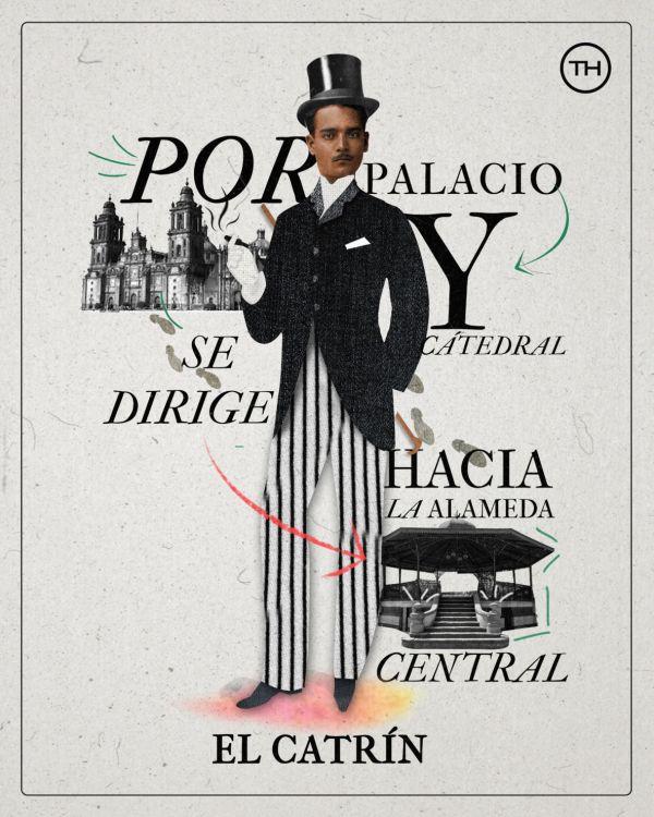 Conoce la Lotería Colaborativa de The Happening con talento mexicano - plantillaloteria-catrin