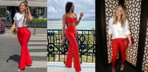 Razones para utilizar un pantalón rojo en tus outfits más seguido