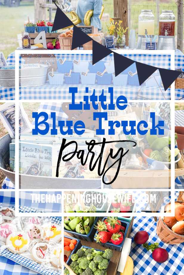Little Blue Truck Birthday Party! Kids birthday party farm birthday party #farmparty #farm birthdayparty #bidspartythemes.png
