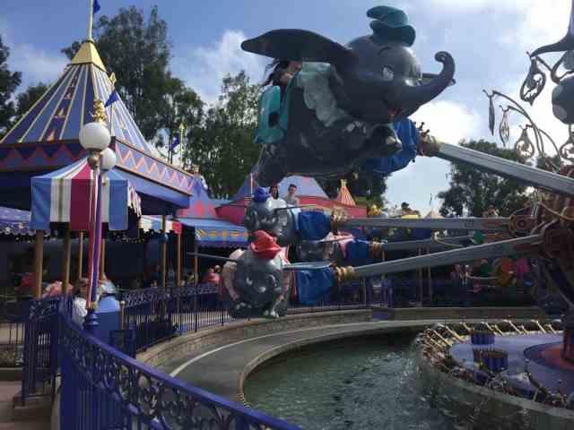 Dumbo the Flying Elephant Disneyland Fantasyland