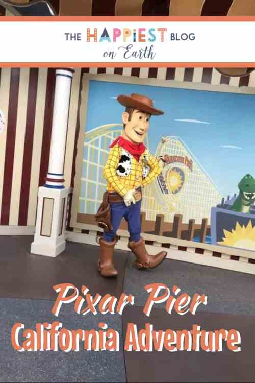 What to ride first at Pixar Pier