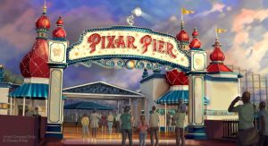 Pixar Pier, courtesy Disneyland Resort.