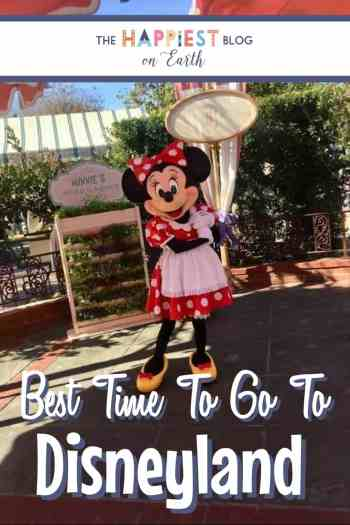Best time to visit to Disneyland