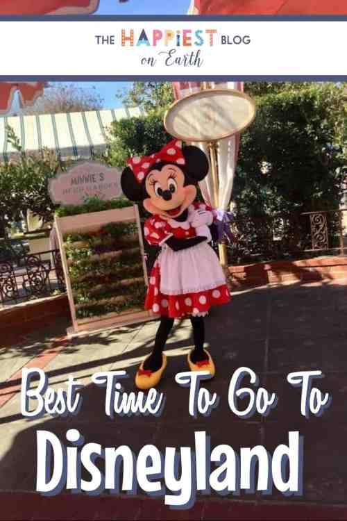 Best time to visit to Disneyland
