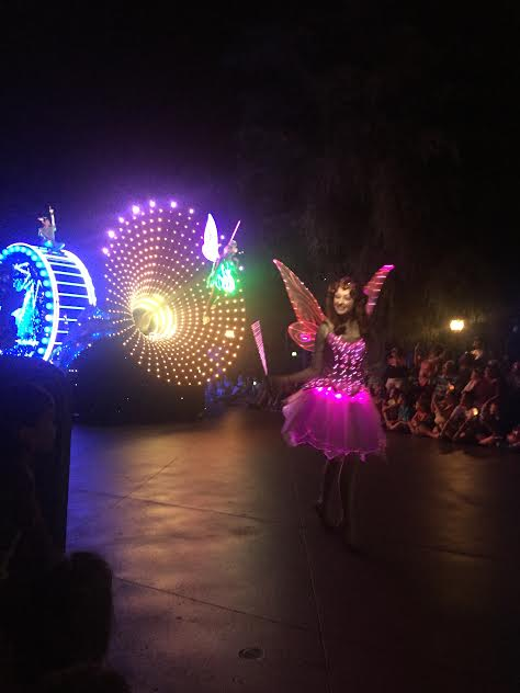 Disneyland's Paint the Night Parade seating guide and viewing tips.