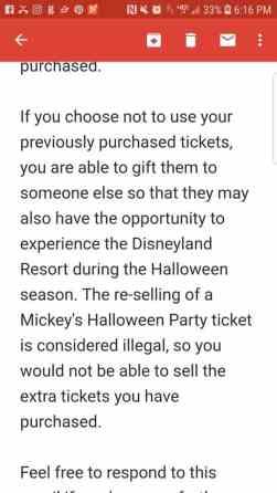 Buy Mickey's HalloweenParty tickets