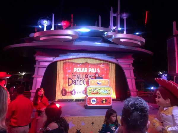 Halloween Dance Party Disneyland