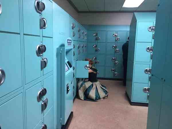 Princess Ana locker
