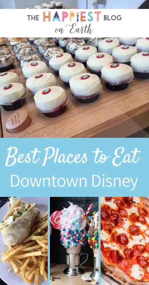 Best places to eat at Downtown Disney District in Disneyland Resort. Naples, Tortilla Jo's, Catal and more, no Disneyland ticket required! #DisneylandFood #DisneylandTips #Disneyland
