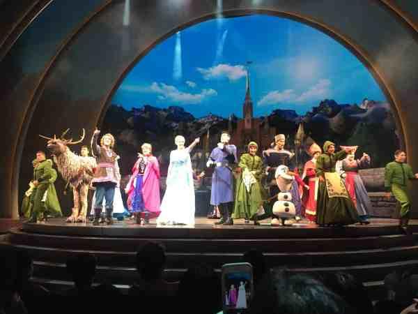 Frozen Cast Disneyland Resort