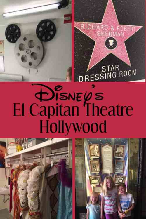 Go behind the scenes at Disney's El Capitain Theatre in Hollywood, CA.