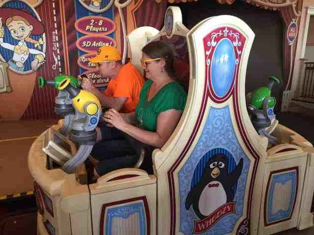 Get on Toy Story Midway Mania before the crowds, strategies here!