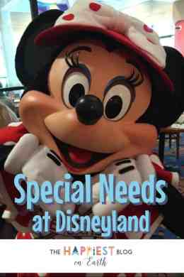 Special Needs at Disneyland