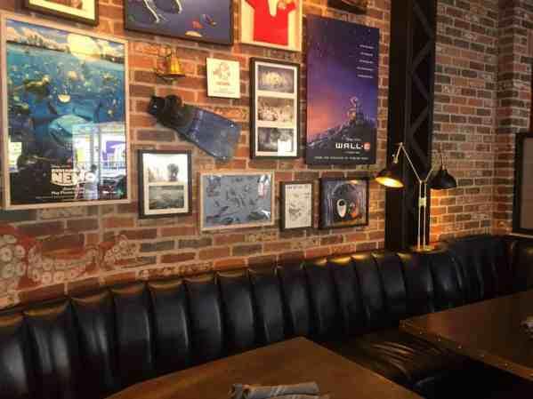 Lamplight Lounge Wall E wall