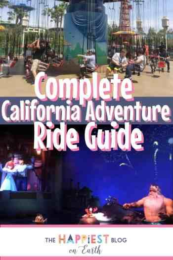 California Adventure Ride Guide