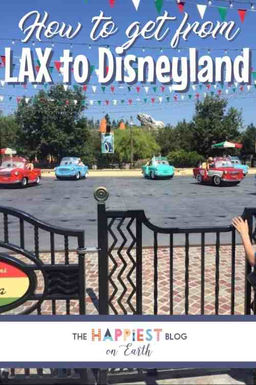 LAX to Disneyland