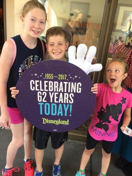 Disneyland 62nd Birthday