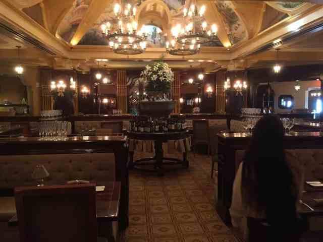 Carthay Circle main dining area