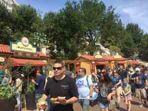Food & Wine Festival booths